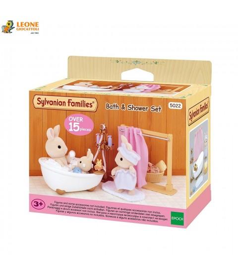 Sylvanian Families - Set bagno/doccia