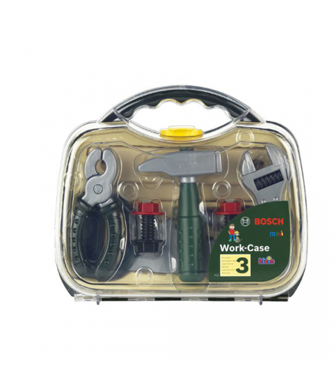 bosch valigia arnesi, media, trasparente