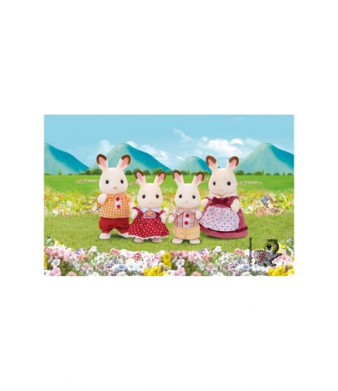 sylvanian families conigli cioccolato