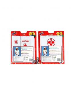 grembiule dottore ed infermiera